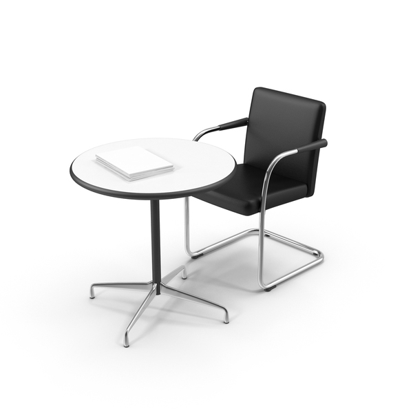 Office Furniture Collections: Table and Chair PNG & PSD Images