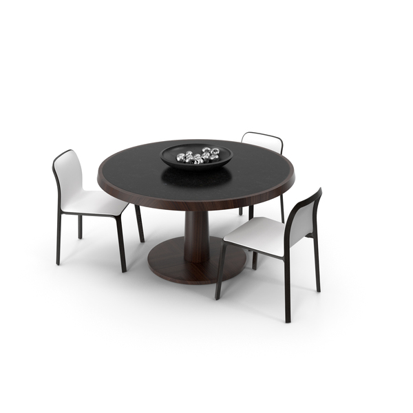 Table and Chairs PNG & PSD Images