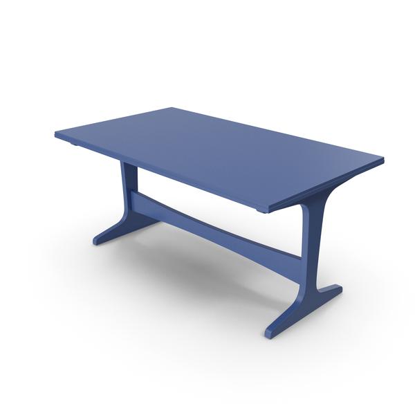 Office Desk: Table Blue PNG & PSD Images