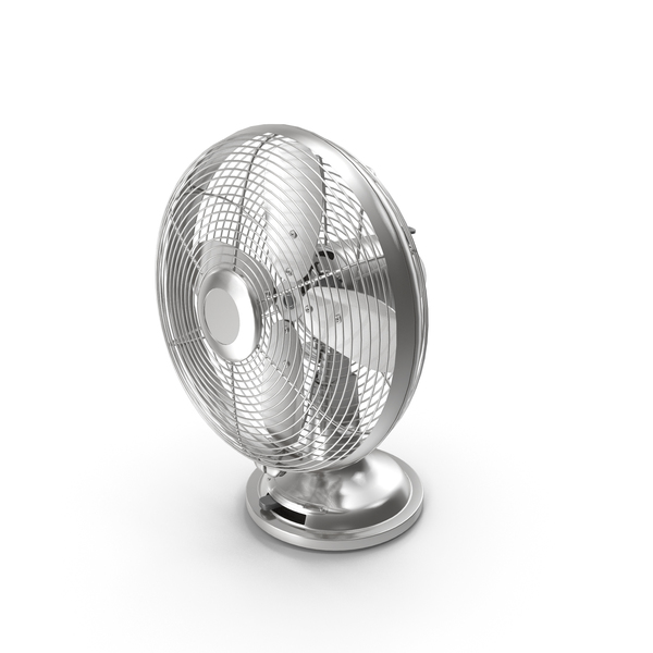 Table Fan Retro Style PNG & PSD Images