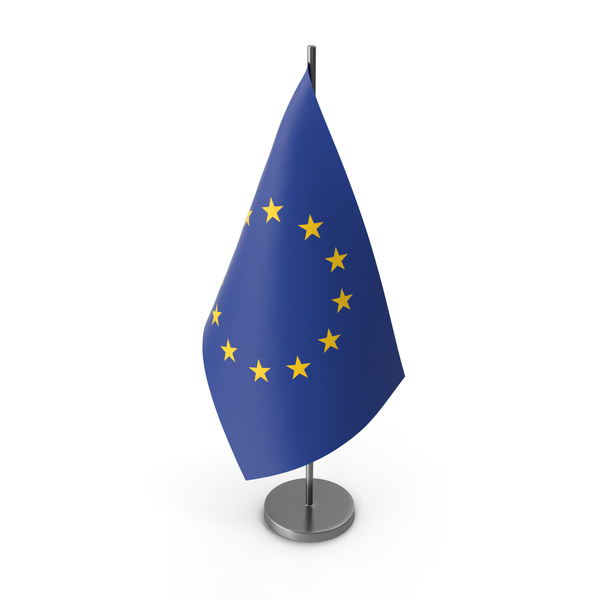 Table Flag European Union PNG & PSD Images