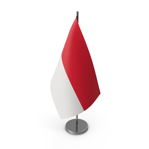 Table Flag Monaco PNG & PSD Images