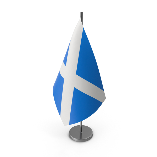 Table Flag Scotland PNG & PSD Images