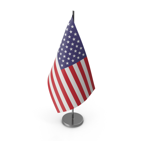 Table Flag United States of America PNG & PSD Images