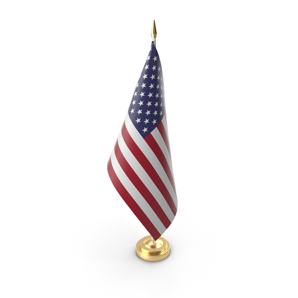 Table Flag USA PNG & PSD Images