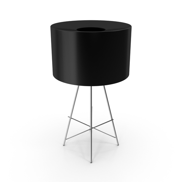 Table Lamp Flos Black PNG & PSD Images