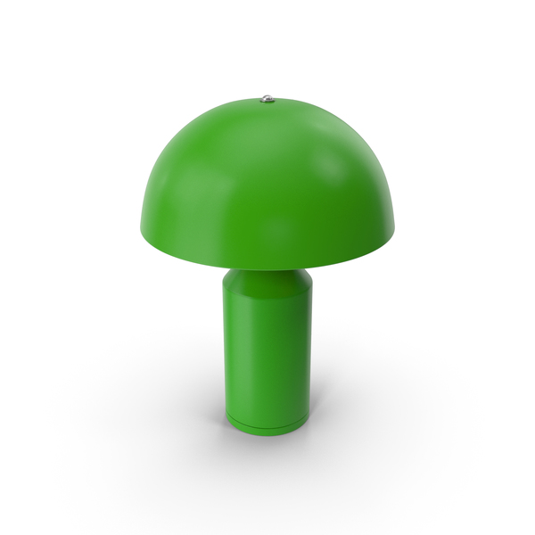 Table Lamp Green PNG & PSD Images