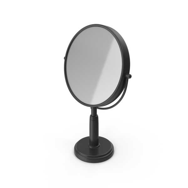 Table Mirror Black PNG & PSD Images