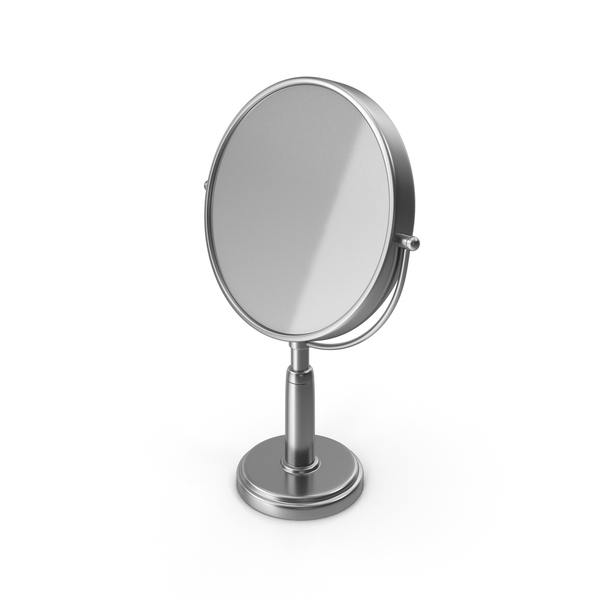 Table Mirror Silver PNG & PSD Images