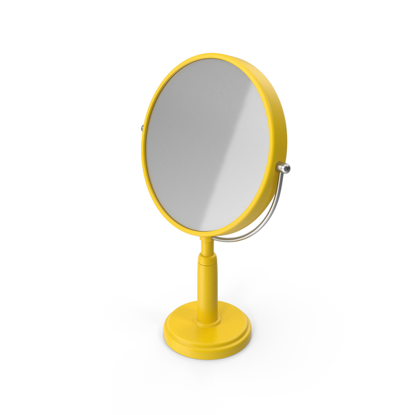 Table Mirror Yellow PNG & PSD Images
