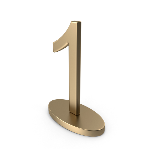 Number: Table Numbers Sign 1 PNG & PSD Images