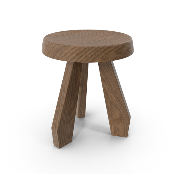 Tabouret Méribel Stool PNG & PSD Images