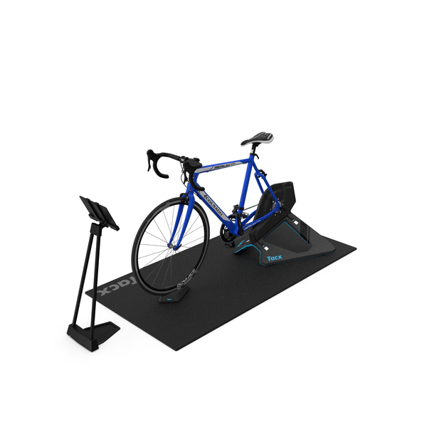 Tacx NEO 2T Smart Trainer And Bike PNG & PSD Images