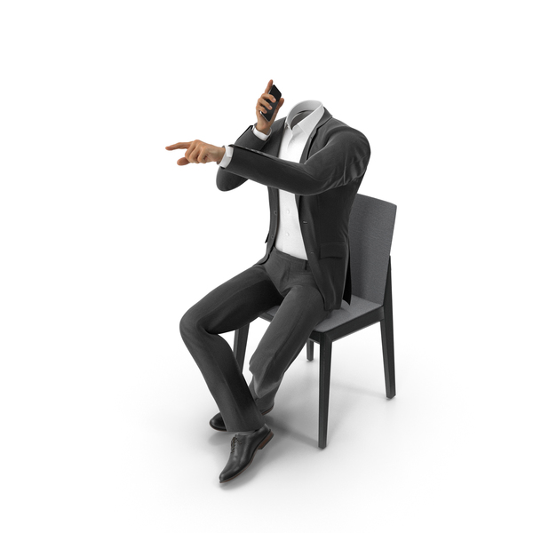 Clothing: Talking About Someone Suit Black PNG & PSD Images