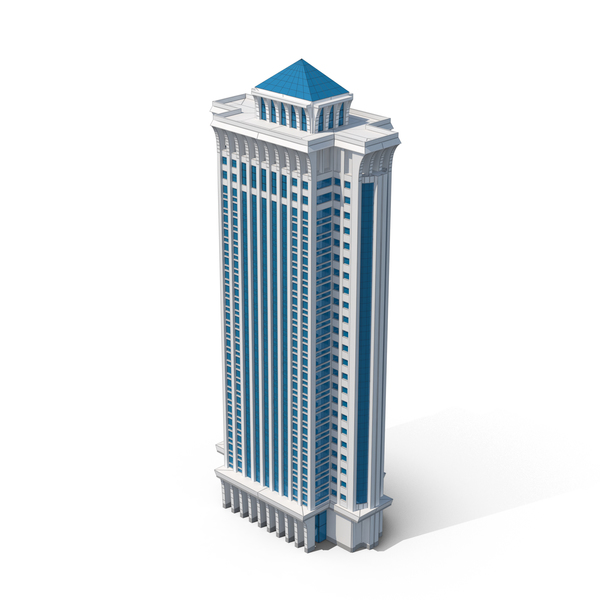 Tall Building Spinner PNG & PSD Images