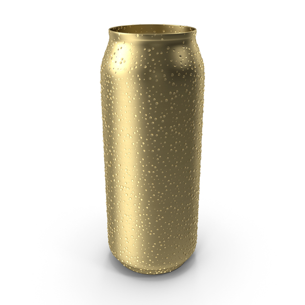 Tall Can Water Condensation PNG & PSD Images