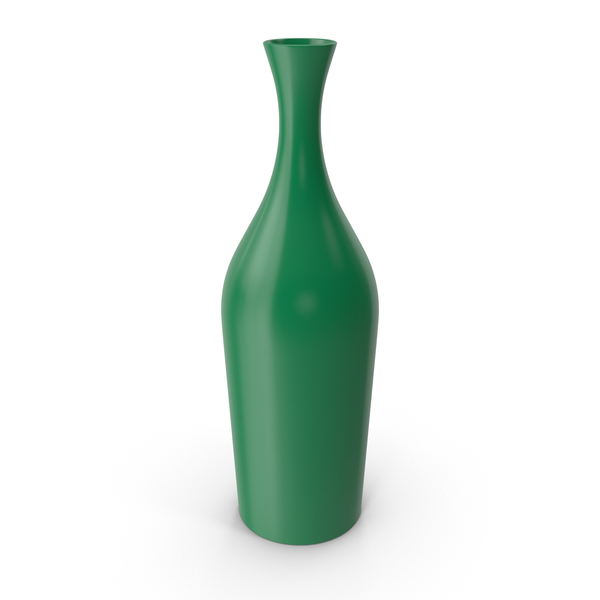 Tall Green Vase PNG & PSD Images