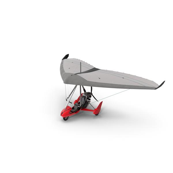 Tandem Ultralight Trike Generic PNG & PSD Images