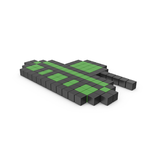Computer: Tank Pixelated Icon PNG & PSD Images