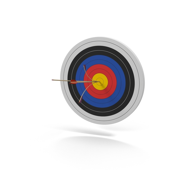 Archery: Target Bulls Eye PNG & PSD Images