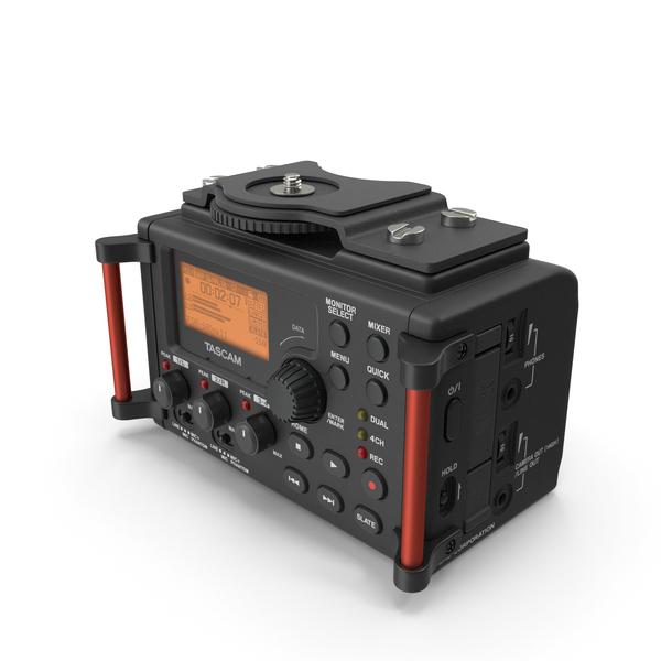 Digital: TASCAM DR-60MKII PCM Recorder PNG & PSD Images