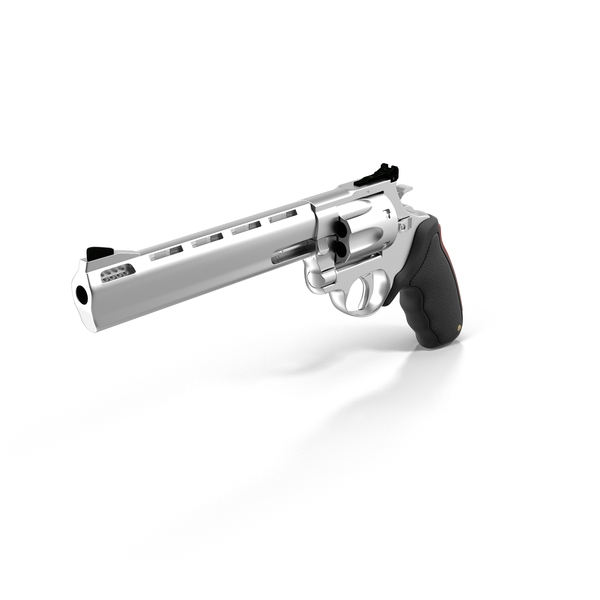 Taurus Raging Bull Revolver PNG & PSD Images