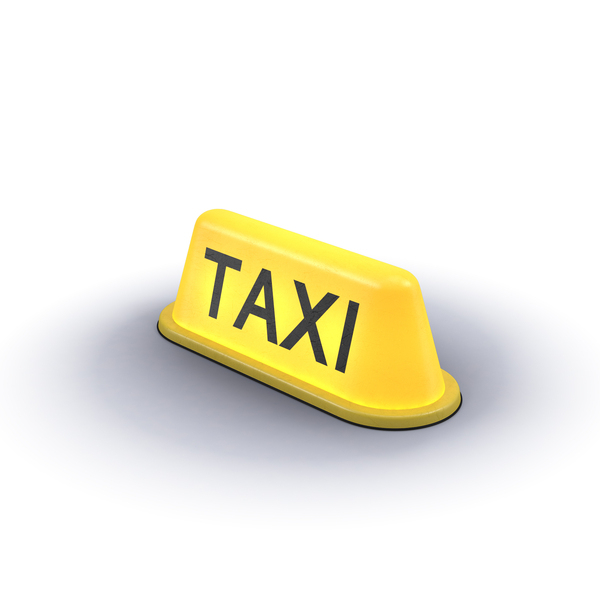 Sign: Taxi Light PNG & PSD Images