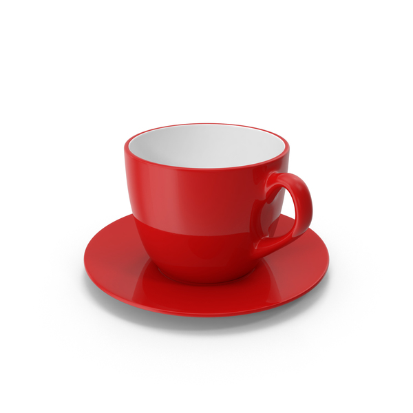 Teacup: Tea Cup With Saucer PNG & PSD Images