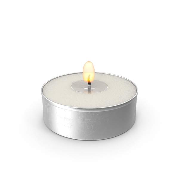 Tea Light Candle PNG & PSD Images