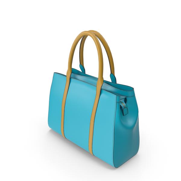 Teal Handbag PNG & PSD Images