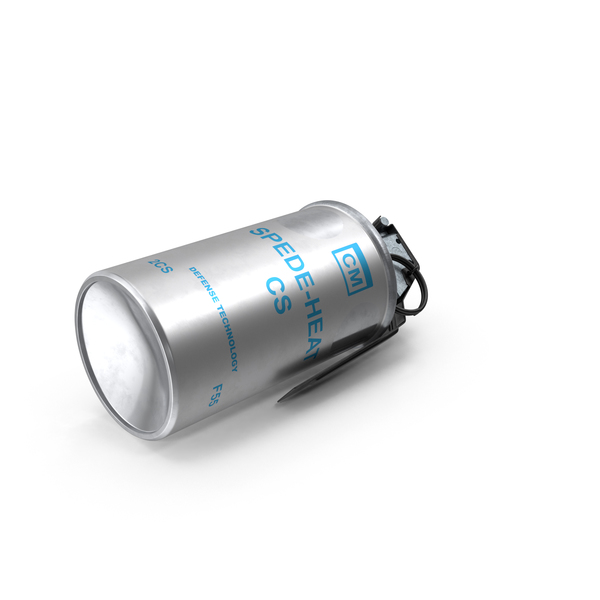 Mace Spray: Tear Gas Canister PNG & PSD Images