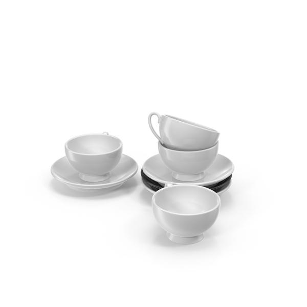 Tea Set: Teaset PNG & PSD Images