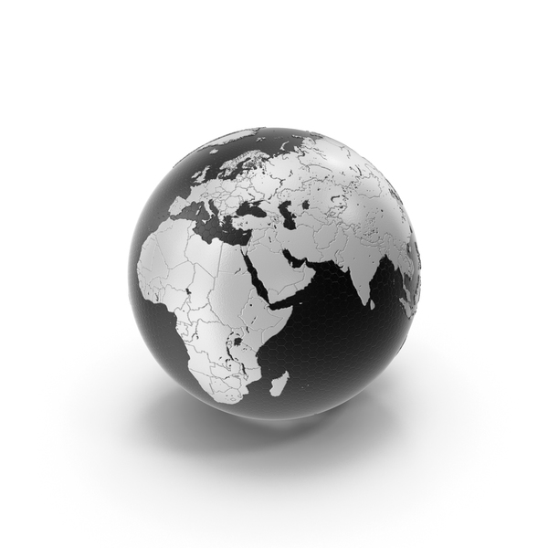 Tech Black White Earth PNG & PSD Images