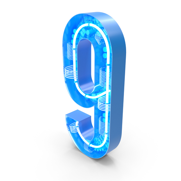 Tech Number 9 PNG & PSD Images