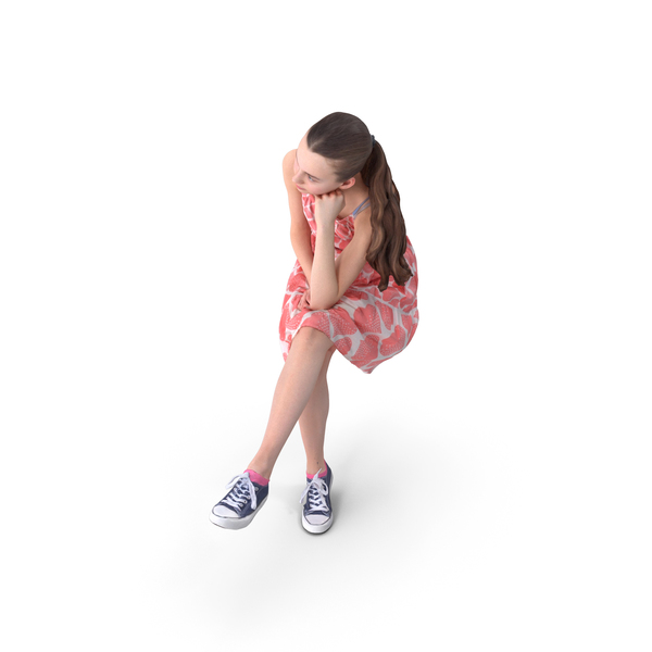 Woman: Teen Sitting PNG & PSD Images