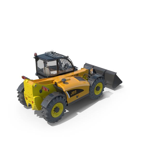Telehandler Forklift Generic 2018 PNG & PSD Images