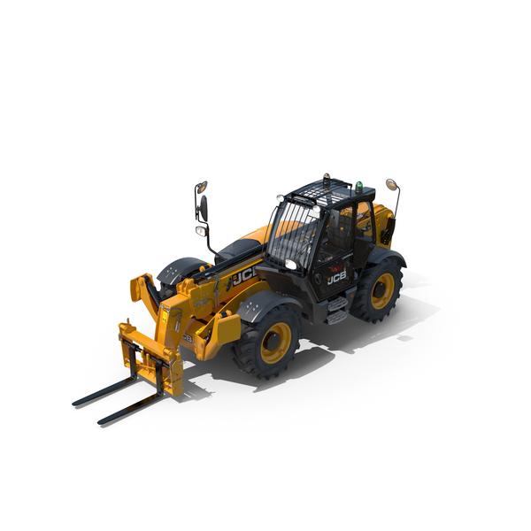 Telehandler JCB 535-125 Forklift PNG & PSD Images