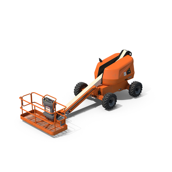 Telescopic Boom Lift PNG & PSD Images