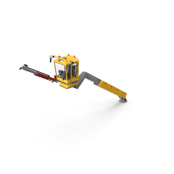 Anti Icing Vehicles: Telescopic Deicer Generic PNG & PSD Images