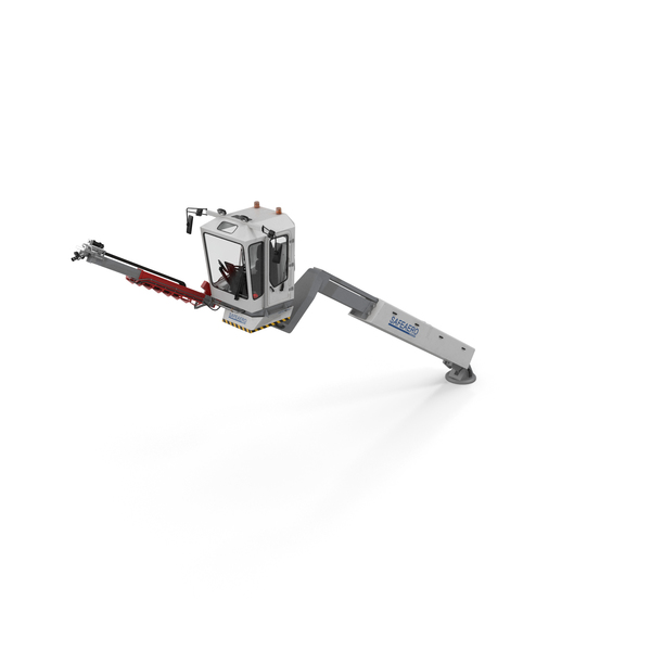 Telescopic Deicer Telehandler PNG & PSD Images