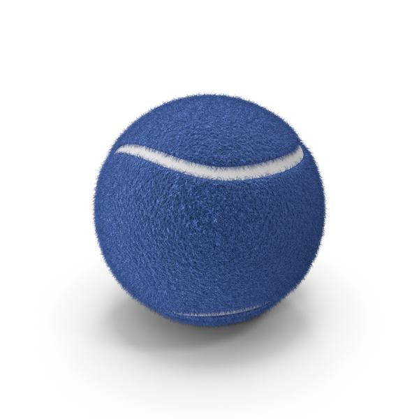 Tennis Ball Blue PNG & PSD Images