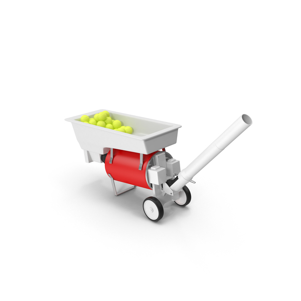 Tennis Ball Machine PNG & PSD Images