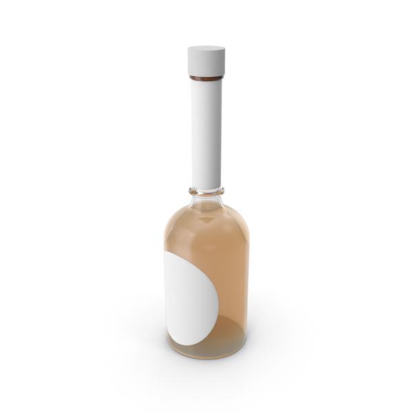 Tequila Bottle Mockup Object