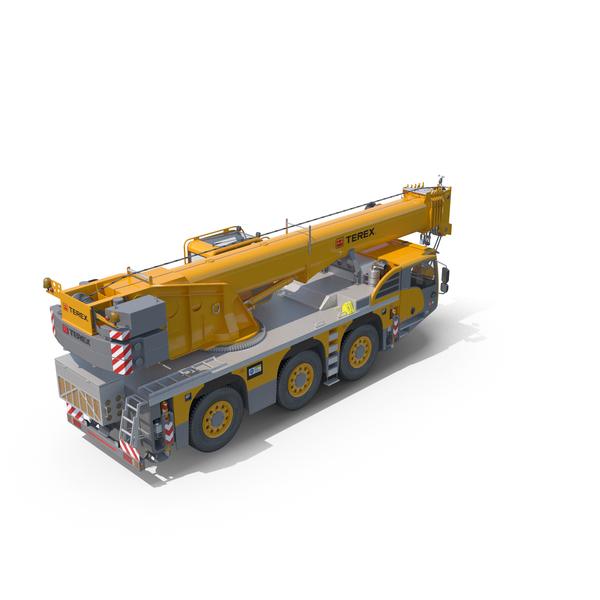 Terex Challenger 3160 All Terrain Crane PNG & PSD Images