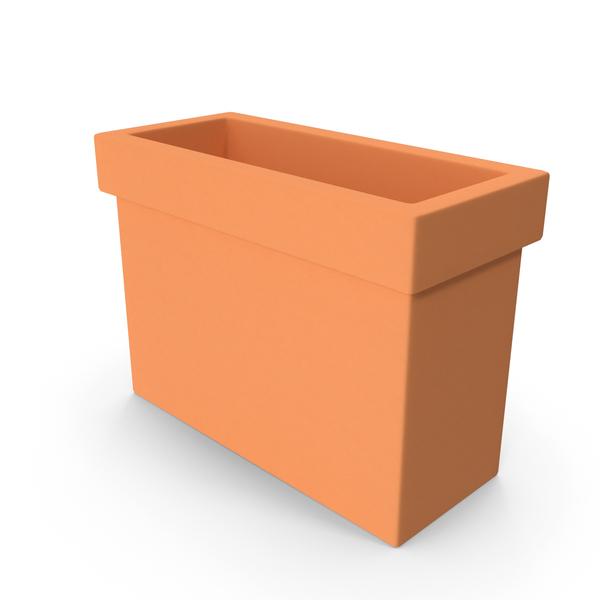 Terra Cotta Planter Box PNG & PSD Images
