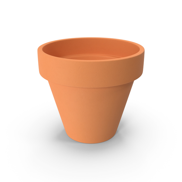 Terracotta Planter PNG & PSD Images
