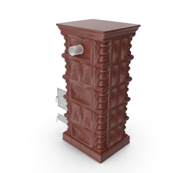 Terracotta Stove PNG & PSD Images