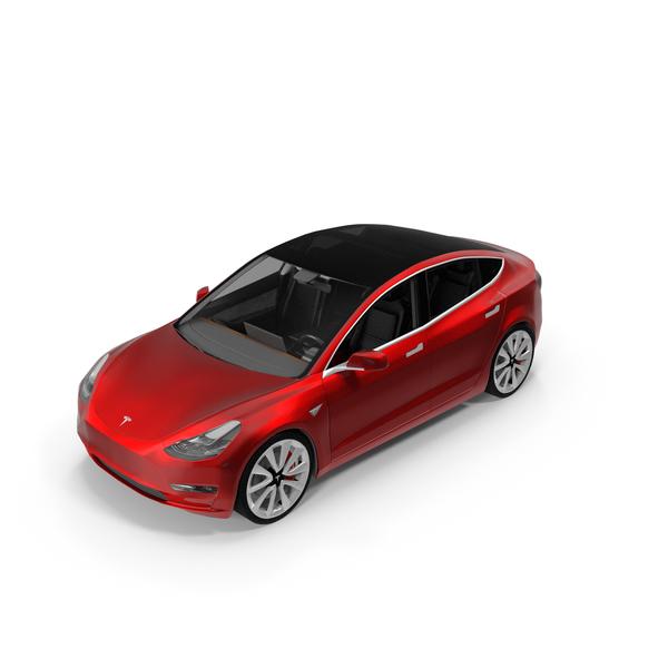 Tesla Model 3 PNG & PSD Images