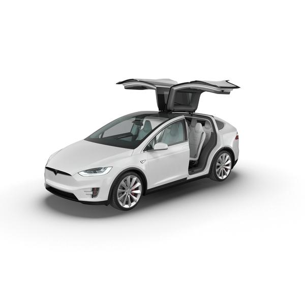 Tesla Model X PNG & PSD Images