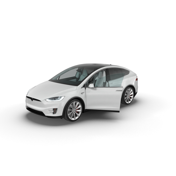 Sedan: Tesla Model X PNG & PSD Images